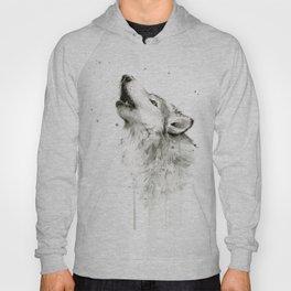 Wolf Howling Hoody