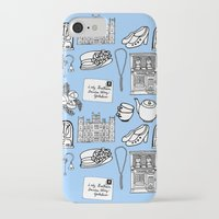 downton abbey iPhone & iPod Cases featuring Downton Abbey by Valerie Jauma