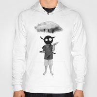 rain Hoodies featuring rain by Seamless