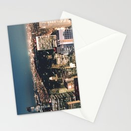 central park at night Stationery Cards