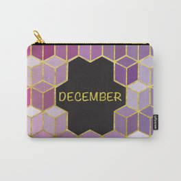 Cubes Of December Carry-All Pouch