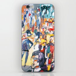 CONFERENCE          by Kay Lipton iPhone Skin