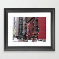 The Berghoff Framed Art Print