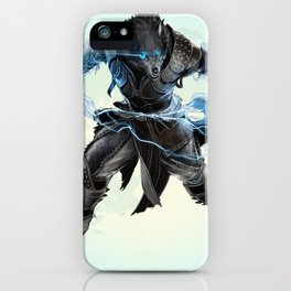 lycanthrope warewolf fool moon iPhone Case