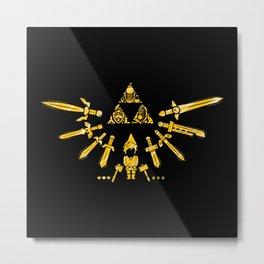 Triforce Z Metal Print