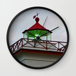 Green Lantern of Wood Islands Wall Clock