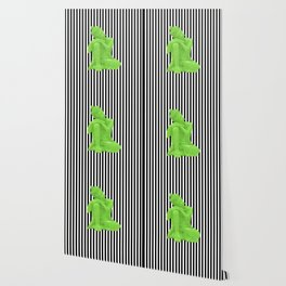 My  inner Green Buddha | Namaste Pop Art Buddha Wallpaper