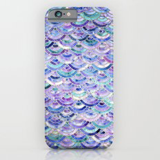 Marble Mosaic in Amethyst and Lapis Lazuli Slim Case iPhone 6s