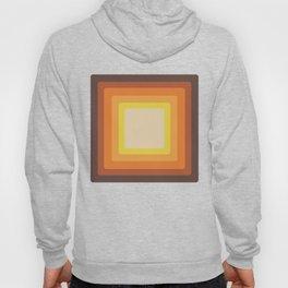 Retro 70s Style Square Mid Century Modern Art Abstract Geometric Hoody