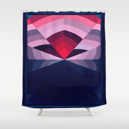 Amplified Lily Shower Curtain