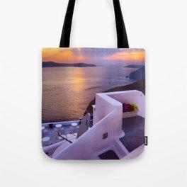 Santorini 24 Tote Bag