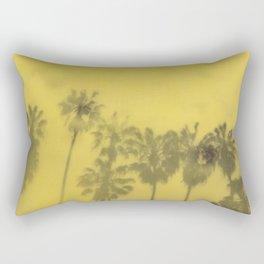 Yellow Palms Rectangular Pillow