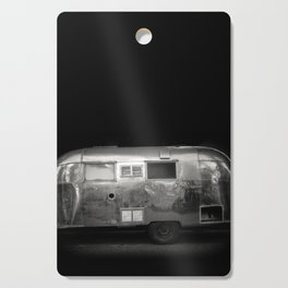 Vintage Airstream Camper Trailer Cutting Board