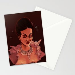 the good queen Stationery Cards