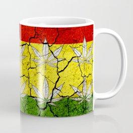 Marihuana flag Coffee Mug