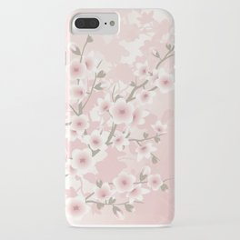 Vintage Floral Cherry Blossom iPhone Case