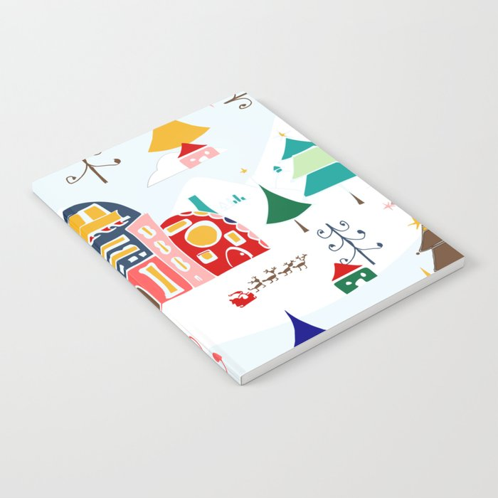 Alpine Chalet Notebook
