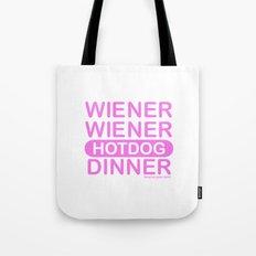 wiener wiener Tote Bag