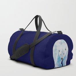 Geometric Polar Bear Duffle Bag