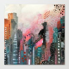 Magical City Canvas Print