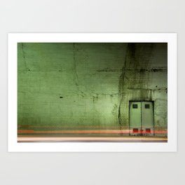 In the 3rd Street Tunnel - Los Angeles #49 Art Print