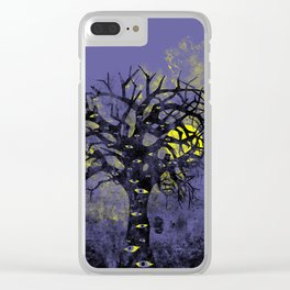 The Vision Tree Clear iPhone Case