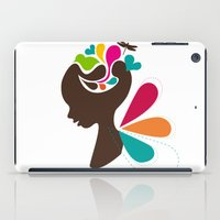 child iPad Cases featuring Child by Irmak Akcadogan