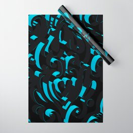 3D Abstract Ornamental Background Wrapping Paper