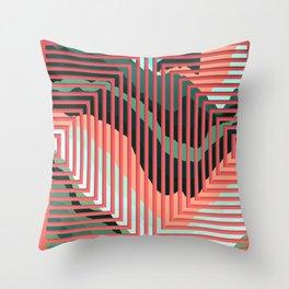 TOPOGRAPHY 2017-012 Throw Pillow