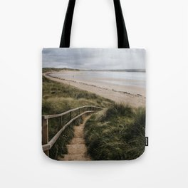 A day at the beach - Landscape and Nature Photography Tote Bag