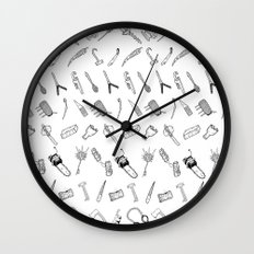 JUST THE WEAPONS Wall Clock