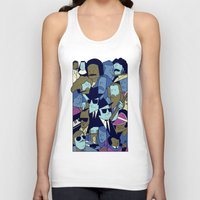 blues brothers Tank Tops featuring The Blues Brothers by Ale Giorgini