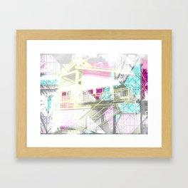 Nana & Doppy Framed Art Print