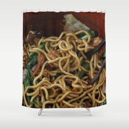 Asia Noodles Shower Curtain