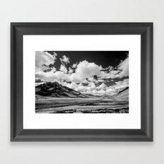 Silk Road Framed Art Print