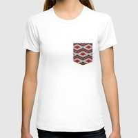 navajo T-shirts featuring Navajo red by spinL