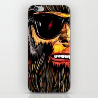 teen wolf iPhone & iPod Skins featuring Teen Wolf by Vasco Vicente
