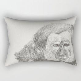 Ghostface Monkey Rectangular Pillow