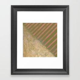 Split Decision Framed Art Print