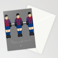 table football - Barcelona Stationery Cards