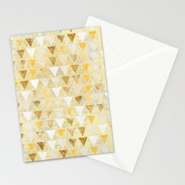 Gold Glass Stationery Cards