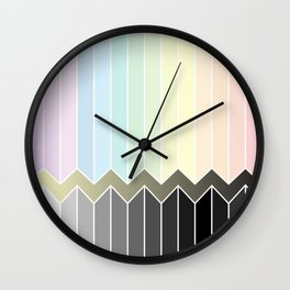 Colourful Wall Clock