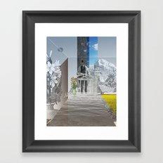 atmosphere 24 · Whitewater Framed Art Print
