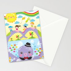 mr. octopus' bridge Stationery Cards