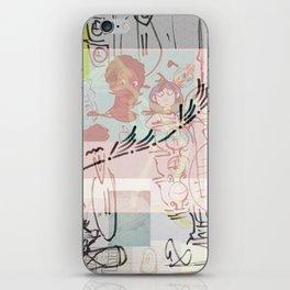 collage winter 2016 iPhone Skin