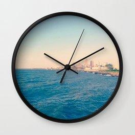 Cleveland Skyline  Wall Clock