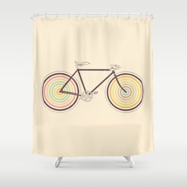 Velocolor Shower Curtain