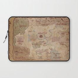 Map of Hyrule- Legend of Zelda Laptop Sleeve