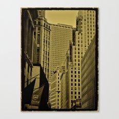 NY Art Canvas Print