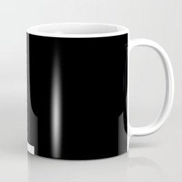 Full Stop (White & Black) Coffee Mug